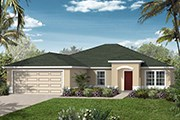 New Homes in Jacksonville, FL - The Monroe Modeled